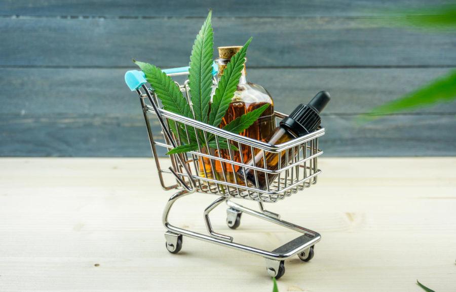sklep z produktami z konopi